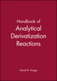Handbook of Analytical Derivatization Reactions (047103469X) cover image