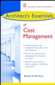 Architect's Essentials of Cost Management (047144359X) cover image