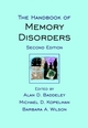 The Handbook of Memory Disorders, 2nd Edition (047149819X) cover image