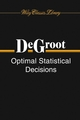 Optimal Statistical Decisions (047168029X) cover image