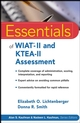 Essentials of WIAT-II and KTEA-II Assessment (047174929X) cover image