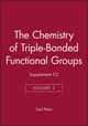 The Chemistry of Triple-Bonded Functional Groups, Supplement C2, Volume 2 (047193559X) cover image