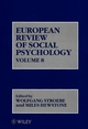 European Review of Social Psychology, Volume 8 (047197949X) cover image