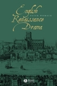 English Renaissance Drama (063122629X) cover image