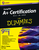 CompTIA A+ Certification All-in-One For Dummies, 3rd Edition (111809879X) cover image