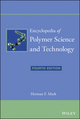 Encyclopedia of Polymer Science and Technology, 15 Volume Set, 4th Edition (111863389X) cover image
