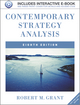 Contemporary Strategy Analysis: Text and Cases, 8th Edition (111994189X) cover image