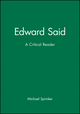 Edward Said: A Critical Reader (155786229X) cover image