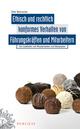 Ethisch und rechtlich konformes Verhalten von Führungskräften und Mitarbeitern (389578639X) cover image