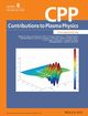 Contributions to Plasma Physics (2222) cover image