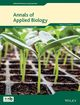 Annals of Applied Biology (AAB) cover image