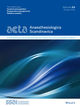 Acta Anaesthesiologica Scandinavica (AAS) cover image