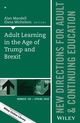 New Directions for Adult and Continuing Education (ACE) cover image