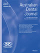 Australian Dental Journal (ADJ) cover image
