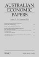 Australian Economic Papers (AEPA) cover image