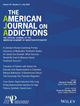 The American Journal on Addictions (AJA6) cover image