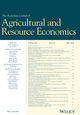 Australian Journal of Agricultural and Resource Economics (AJAR) cover image