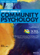 American Journal of Community Psychology (AJCP) cover image