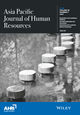 Asia Pacific Journal of Human Resources (APHR) cover image
