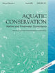 Aquatic Conservation: Marine and Freshwater Ecosystems (AQC2) cover image
