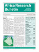 Africa Research Bulletin: Economic, Financial and Technical Series (ARBE) cover image