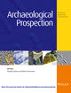 Archaeological Prospection (ARP) cover image