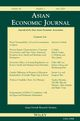 Asian Economic Journal (ASEJ) cover image