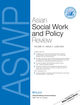 Asian Social Work and Policy Review (ASW3) cover image