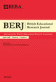 British Educational Research Journal (BERJ) cover image