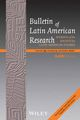 Bulletin of Latin American Research (BLAR) cover image