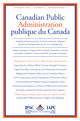 Canadian Public Administration (CAPA) cover image