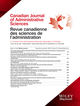 Canadian Journal of Administrative Sciences / Revue Canadienne des Sciences de l'Administration (CJAS) cover image