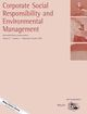 Corporate Social Responsibility and Environmental Management (CSR) cover image