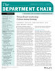 The Department Chair (DCH) cover image