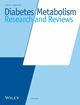 Diabetes/Metabolism Research and Reviews (DMR3) cover image
