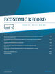Economic Record (ECOR) cover image