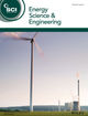 Energy Science & Engineering (ESE3) cover image