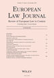 European Law Journal (EULJ) cover image