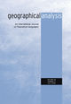 Geographical Analysis (GEA3) cover image