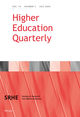 Higher Education Quarterly (HEQU) cover image