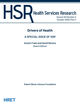 Health Services Research (HESR) cover image