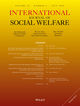 International Journal of Social Welfare (IJS4) cover image