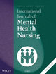 International Journal of Mental Health Nursing (INM) cover image