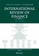 International Review of Finance (IRFI) cover image