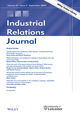 Industrial Relations Journal (IRJ) cover image