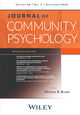 Journal of Community Psychology (JCO3) cover image