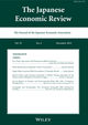 The Japanese Economic Review (JERE) cover image