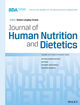 Journal of Human Nutrition and Dietetics (JHN2) cover image