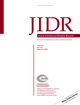 Journal of Intellectual Disability Research (JIR) cover image