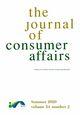Journal of Consumer Affairs (JOCA) cover image